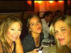 Giovanna Ewbank e Fiorella Mattheis curtem férias juntas em Nova York