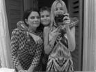 Yasmin Brunet posta foto com a mãe e deseja feliz aniversário no Twitter