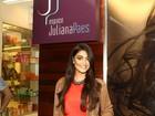 Juliana Paes inaugura filial de seu salão de beleza em Angra dos Reis