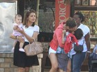 'Quero muito ter outro filho', diz Nívea Stelmann a revista