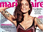 Aos 38 anos, Eva Mendes mostra toda sua beleza de mai em revista