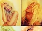 Rihanna faz topless para promover seu perfume