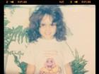 Perlla posta foto de quando era criança: 'Eu de jubinha'