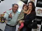 Ana Furtado leva filha ao circo e brinca: 'Hoje temos a mesma idade'