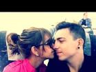 Mariana Rios posta foto romântica com Di Ferrero