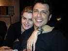 Ceará posta foto com Mirella e agradece mensagens por casamento