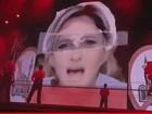 Madonna coloca suástica na testa de líder política francesa durante show