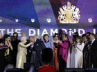 Famlia real comemora o Jubileu de Diamante da Rainha Elizabeth II
