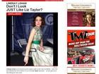 Site divulga primeira foto de Lindsay Lohan como Liz Taylor em filme