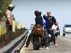 Em alta velocidade, namorado de Jennifer Lopez é parado por policiais