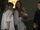Gisele Bündchen deixa o Brasil