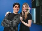'Foi amor à primeira vista', diz Dani Calabresa sobre Marcelo Adnet