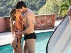Adriana sobre boato de que Rodrigão é gay: 'Quem dorme com ele sou eu'