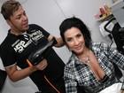 Scheilas Carvalho e Mello postam foto 'recordando velhos tempos'