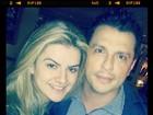 Recém-casados, Mirella publica foto sem maquiagem ao lado de Ceará