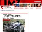 Lindsay Lohan sofre acidente de carro em Los Angeles. Veja foto