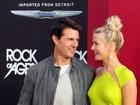 Sem sutiã, Julianne Hough lança 'Rock of Ages' ao lado de Tom Cruise