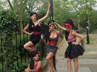 Ana Hickmann posta no Twitter foto caracterizada como Amy Winehouse