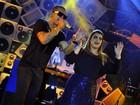 Maratona! Depois de Ivete, Preta Gil canta com Leandro Sapucahy