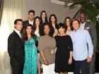 Oprah Winfrey entrevista a família Kardashian