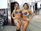 Ana Paula Minerato diz a jornal que só usa lingerie do Corinthians
