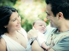 Ex-BBB Priscila apresenta o filho, Gabriel: 'Olha como ele é perfeito'