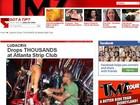 Rapper Ludacris gasta US$ 10 mil em clube de striptease, diz site