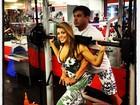 Ex-BBB Fabiana pega pesado na malhação e posta foto