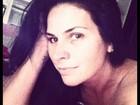 Solange Gomes posta foto sem maquiagem
