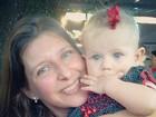 Carolinie mostra foto da filha com a avó: 'De onde vieram os olhos azuis'