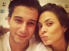 Após 'desencontros', Rafael Almeida e Alinne Rosa jantam juntos