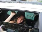 Gisele Bündchen causa alvoroço ao gravar comercial em Belém