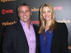 Atores de 'Friends', Lisa Kudrow e Matt LeBlanc se reencontram nos EUA