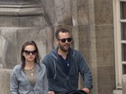 Natalie Portman passeia com o filho- fofo- Aleph em Paris