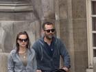 Natalie Portman passeia com o filho- fofo- Aleph em Paris