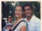 Luana Piovani e Pedro Scooby postam fotos do filho, Dom