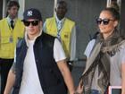 Depois de show em São Paulo, Jennifer Lopez desembarca no Rio
