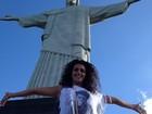Noemí, do 'Gran Hermano', faz passeios turísticos no Rio