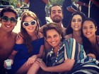 Marina Ruy Barbosa posta foto de gravao de novela na praia