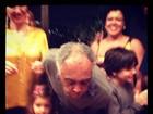 Preta Gil posta foto com famosos em festa para Gil, que faz 70 anos
