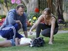 Jennifer Lawrence socorre menina que passou mal perto de sua casa