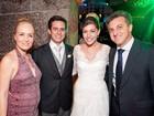 Veja Angélica 'barrigudinha' no casamento de Luma Costa