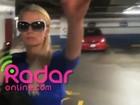Site divulga vídeo que mostra Paris Hilton partindo para cima de fotógrafo