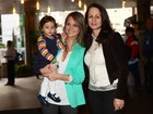 Mulher e filha visitam Pedro Leonardo: 'Só tenho que agradecer'