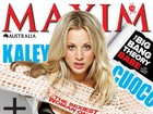 Atriz de &#39;Big Bang Theory&#39; faz ensaio sensual para revista &#39;Maxim&#39;