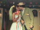 'O nervosismo é o mesmo', diz a noiva caipira Aparecida Petrowky