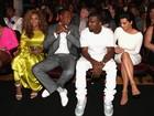 Beyoncé, Jay-Z, Kanye West e Kim Kardashian vão a prêmio nos EUA