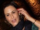 Guilhermina Guinle aparece com aliança de compromisso em show