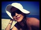 Luana Piovani curte praia no Rio: 'É bonita, é bonita e é bonita'
