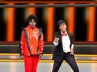 Pepê e Neném se tranformam em Michael Jackson para programa